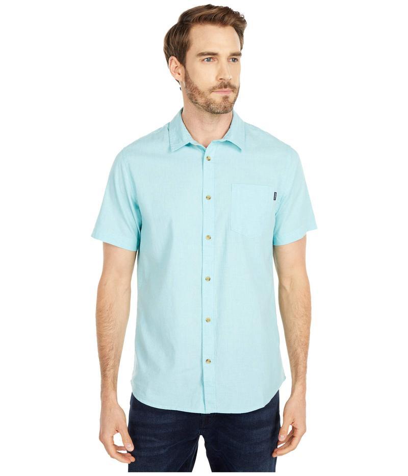 オニール メンズ シャツ トップス Service Short Sleeve Shirt Ice Water