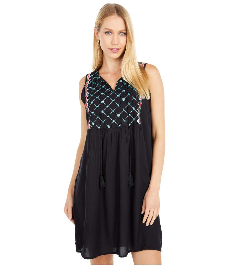 ロックアンドロールカウボーイ レディース ワンピース トップス Sleeveless Dress D5-5158 Black