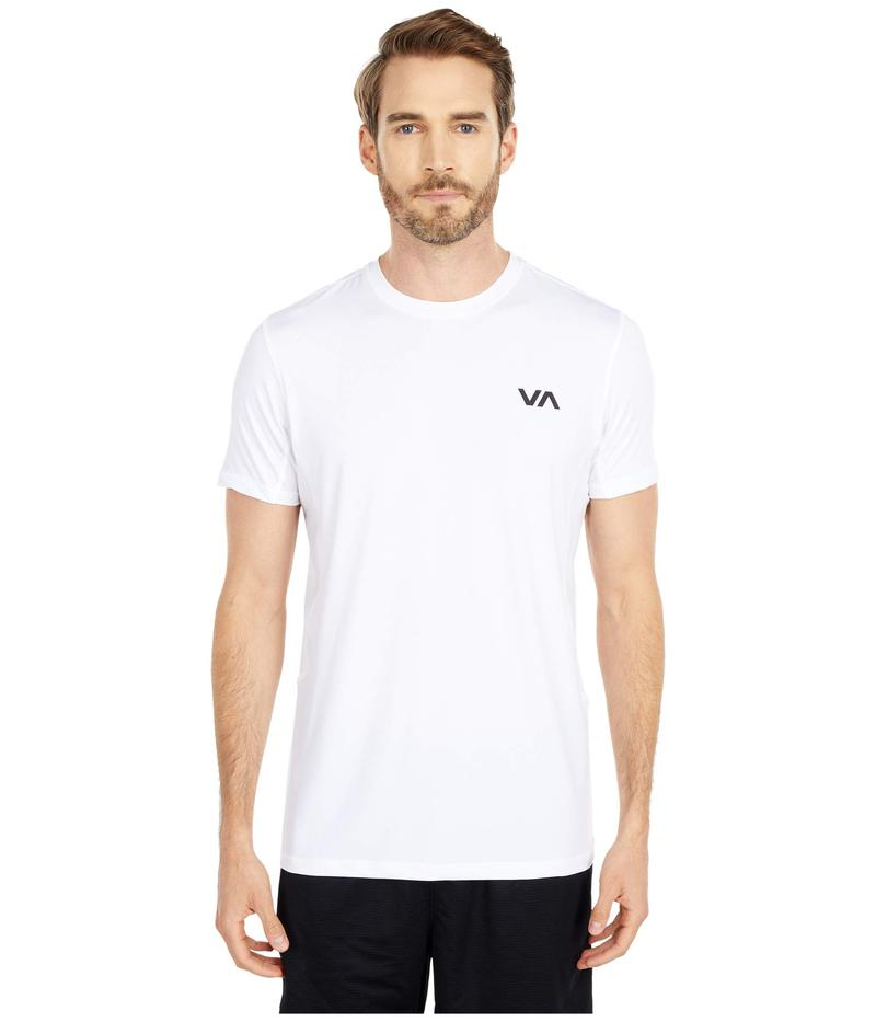 ルーカ メンズ シャツ トップス VA Sport Vent Short Sleeve Top White