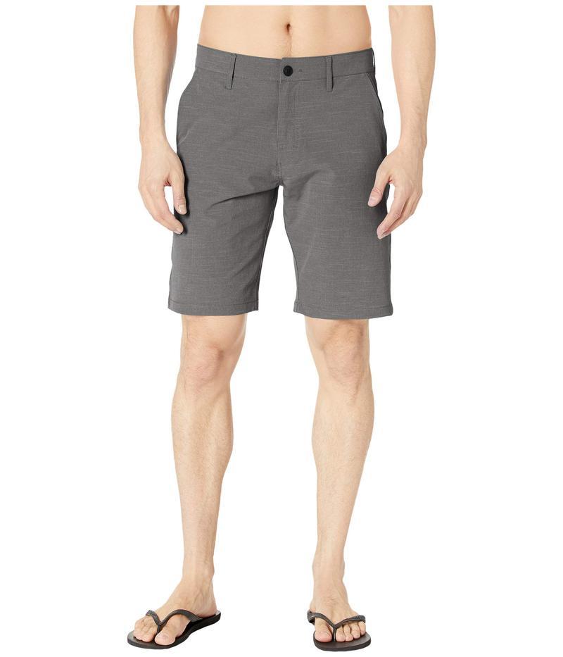 ルーカ メンズ ハーフパンツ・ショーツ ボトムス Balanced Hybrid Shorts RVCA Black