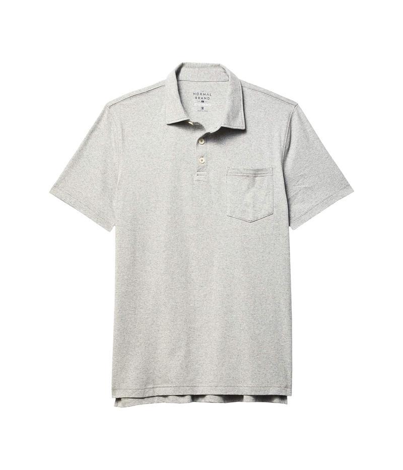 ノーマルブランド メンズ シャツ トップス Active Puremeso Polo Grey