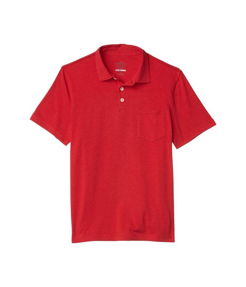 ノーマルブランド メンズ シャツ トップス Active Puremeso Polo Red