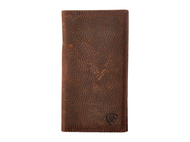 アリアト メンズ 財布 アクセサリー Shield Triple Stitch Rodeo Wallet Brown Oiled Row