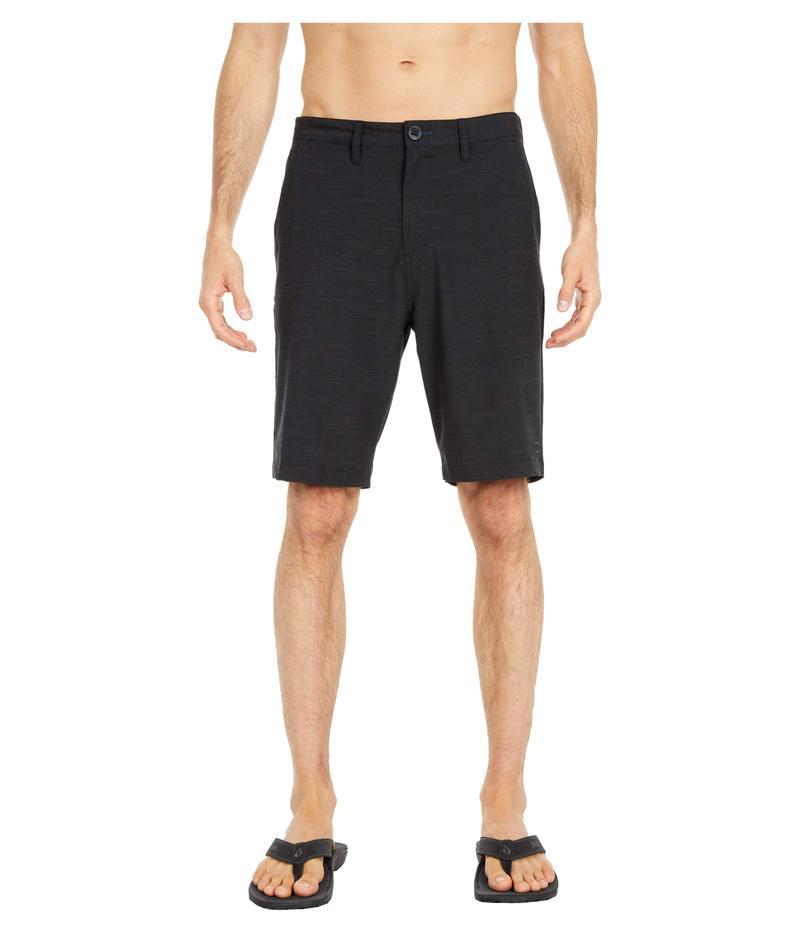 ビラボン メンズ ハーフパンツ・ショーツ ボトムス Crossfire Slub Shorts Black