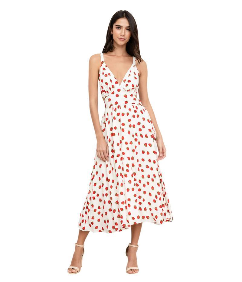 ユミキム レディース ワンピース トップス Uma Dress Strawberry Fiel