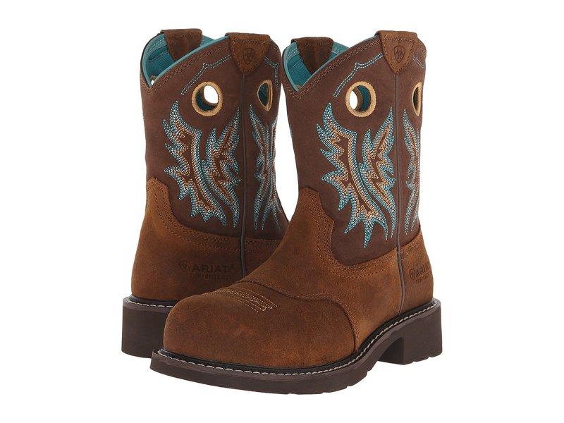 アリアト レディース ブーツ・レインブーツ シューズ Fatbaby Cowgirl Composite Toe Fireside/Tan