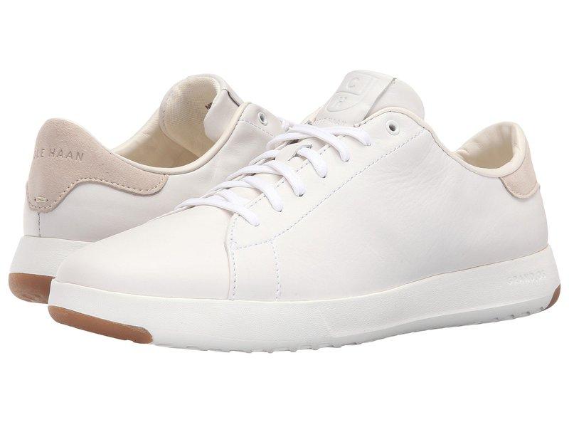 コールハーン メンズ スニーカー シューズ GrandPro Tennis Sneaker White