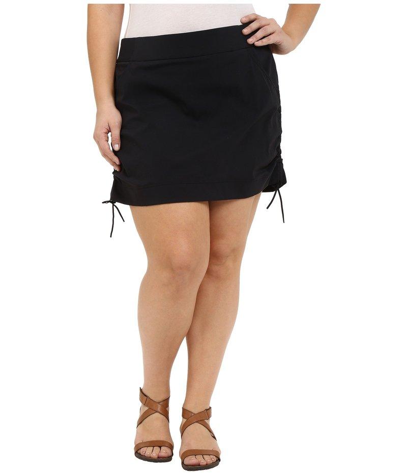 送料無料 サイズ交換無料 祝日 コロンビア レディース ボトムス スカート Anytime Size Casual¢ Black Skort Plus 本店