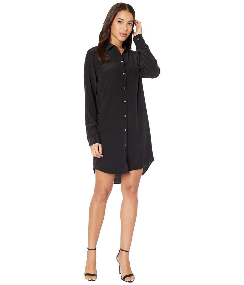 エキプモン レディース ワンピース トップス Essential Dress True Black