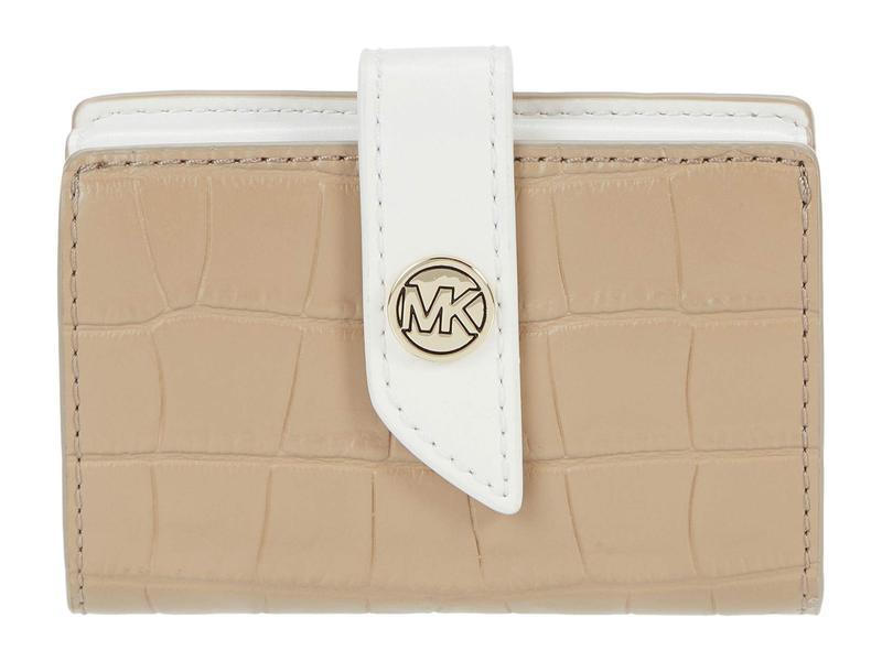マイケルコース レディース 財布 アクセサリー MK Charm Small Tab Card Case Truffle Multi