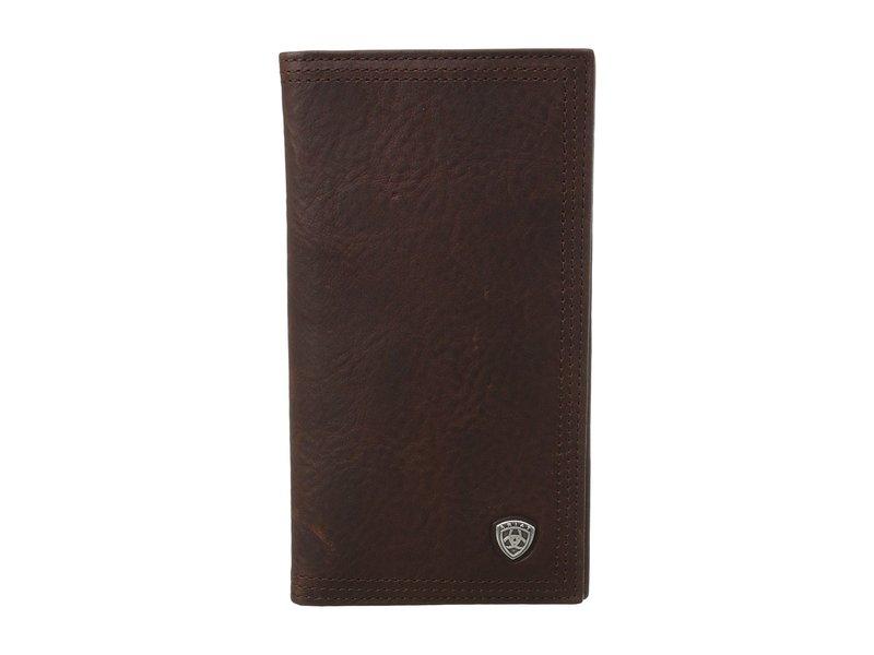 アリアト メンズ 財布 アクセサリー Ariat Shield Rodeo Wallet Dark Copper