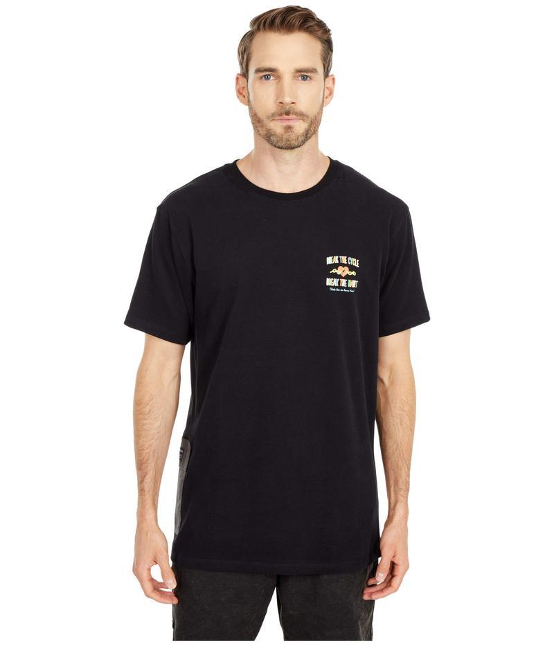 パブリッシュ メンズ シャツ トップス Habit Short Sleeve T-Shirt Black