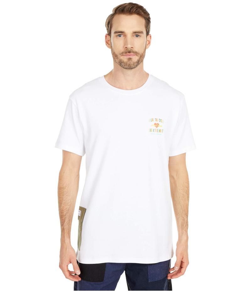パブリッシュ メンズ シャツ トップス Habit Short Sleeve T-Shirt White