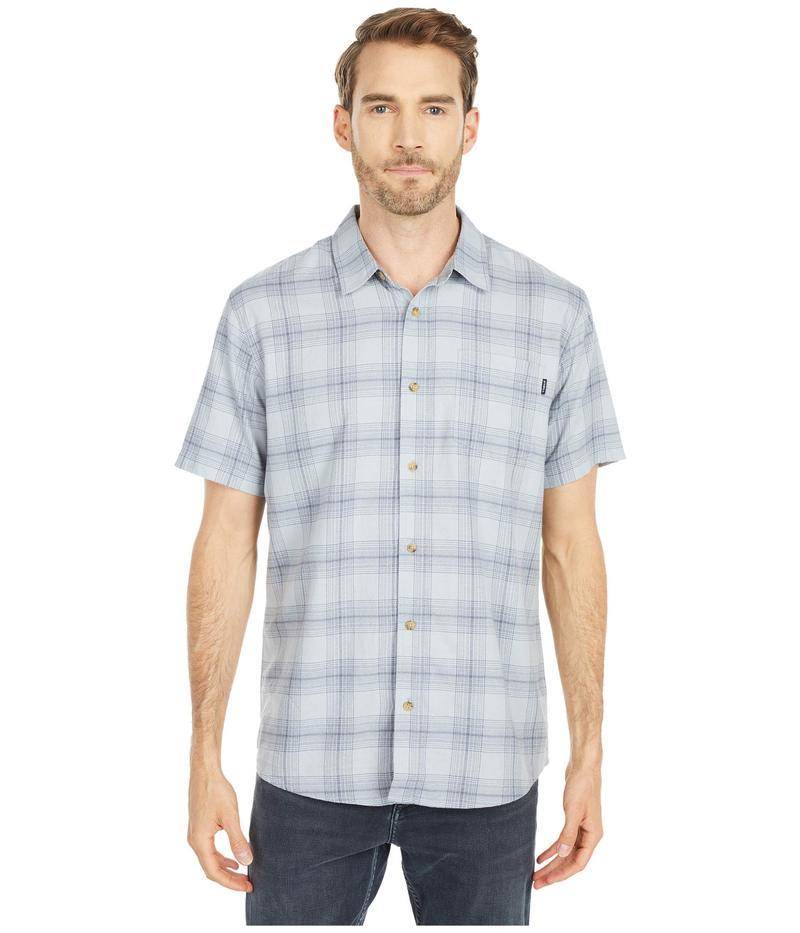 オニール メンズ シャツ トップス Dialed Short Sleeve Shirt Light Indigo