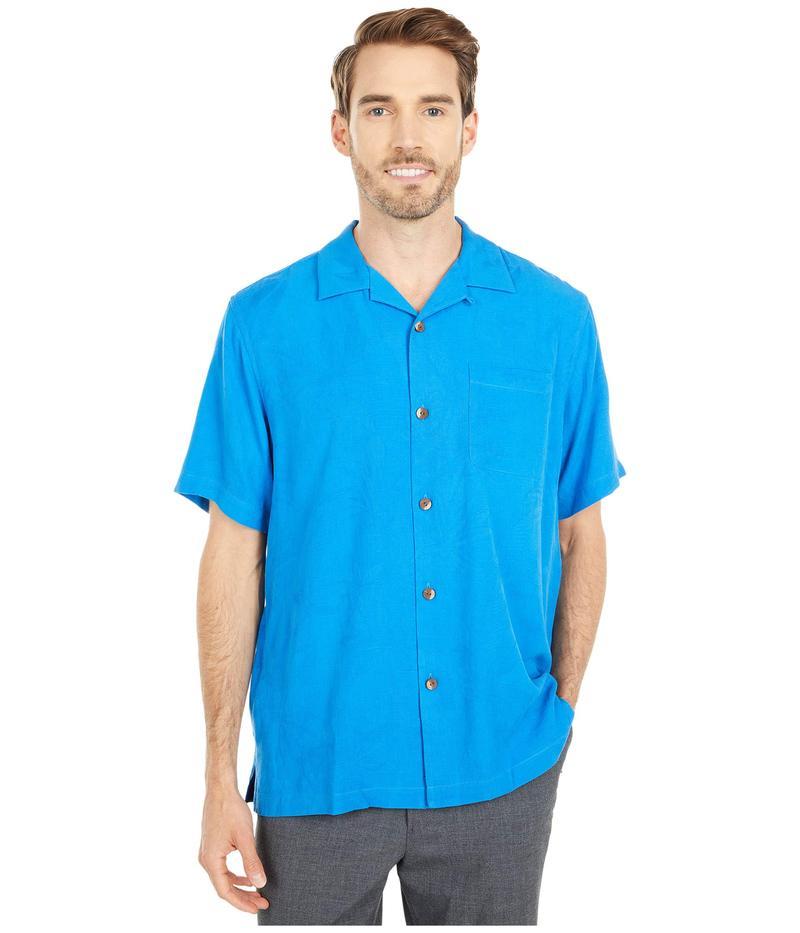 トッミーバハマ メンズ シャツ トップス Al Fresco Tropics Seven Seas Blue