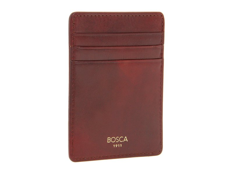 ボスカ メンズ 財布 アクセサリー Old Leather Collection - Deluxe Front Pocket Wallet Cognac Leather