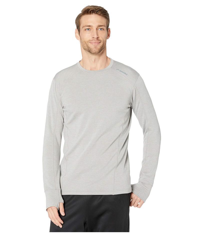 ブルックス メンズ シャツ トップス Notch Thermal Long Sleeve Shirt Heather Ash