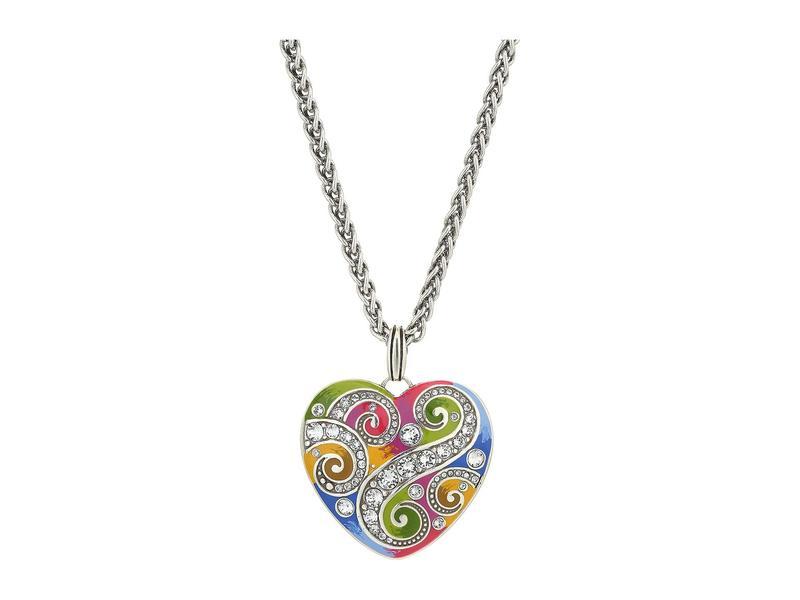 ブライトン レディース ネックレス・チョーカー・ペンダントトップ アクセサリー La Bella Heart Necklace Multi