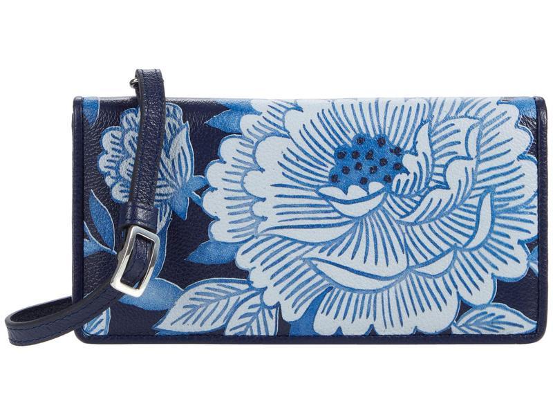 ブライトン レディース ハンドバッグ バッグ Journey to India Large Wallet Blue