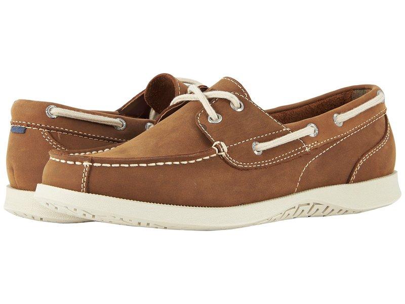 ノンブッシュ メンズ デッキシューズ シューズ Bayside Lites Two-Eye Moc Toe Boat Shoe Tan