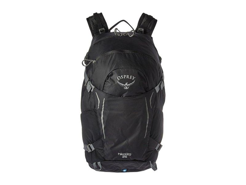 オスプレー メンズ バックパック・リュックサック バッグ Hikelite 26 Black