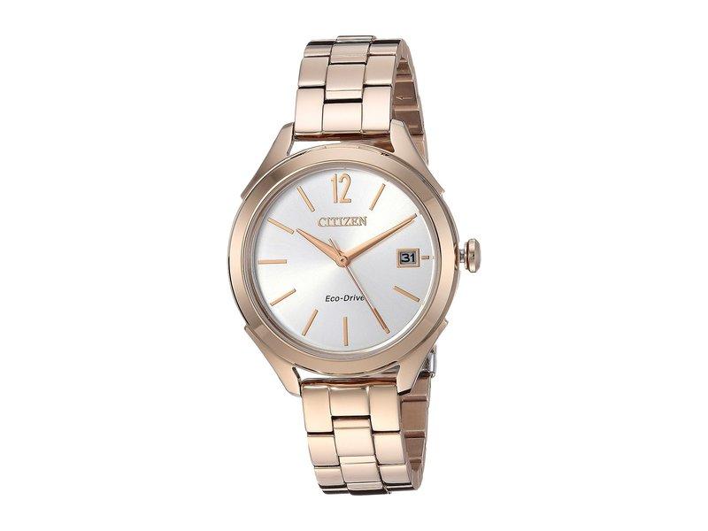 シチズンウォッチ レディース 腕時計 アクセサリー FE6143-56A Eco-Drive Rose Gold Tone