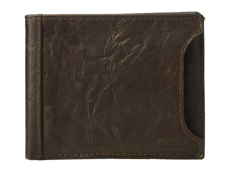 フォッシル メンズ 財布 アクセサリー Neel Sliding 2-in-1 Wallet Brown