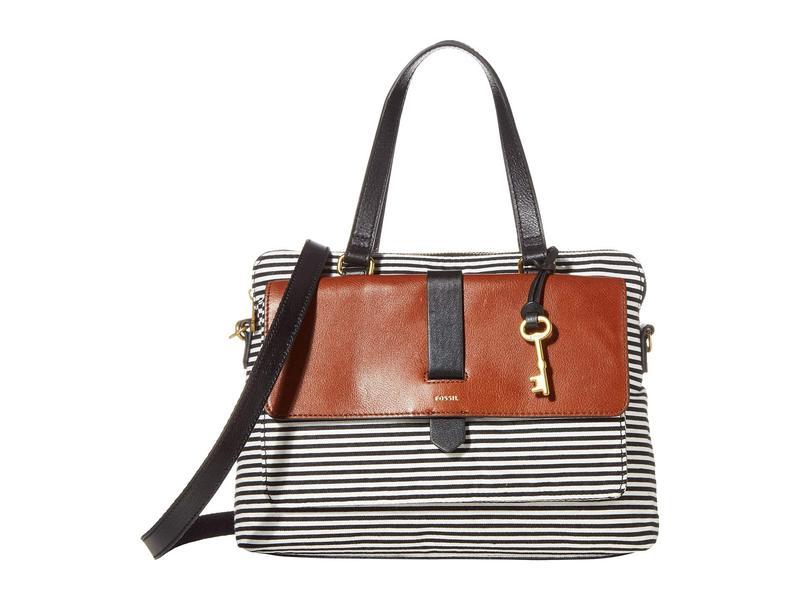 フォッシル レディース ハンドバッグ バッグ Kinley Satchel Handbag Multicolor