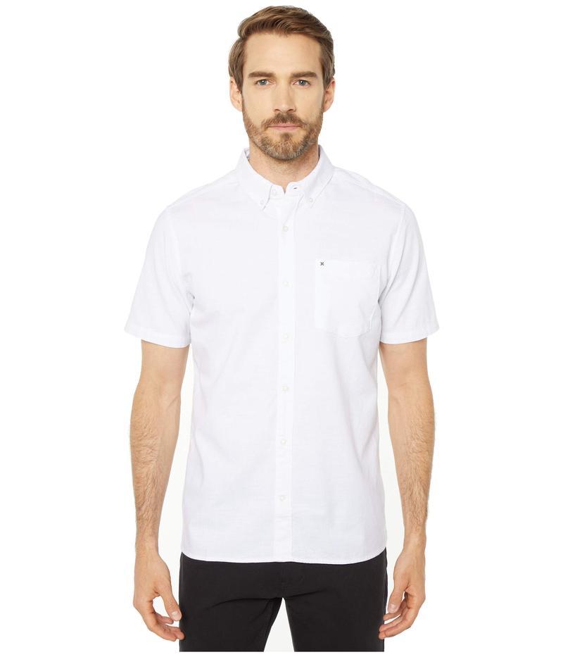 ハーレー メンズ シャツ トップス One & Only 2.0 Short Sleeve Woven White