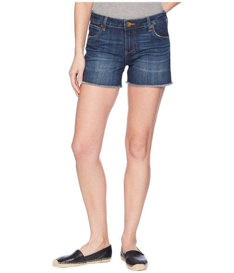 カットフロムザクロス レディース ハーフパンツ・ショーツ ボトムス Gidget Fray Shorts in Stimulating/Dark Stimulating/Dar