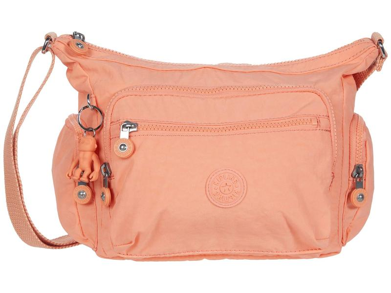 キプリング レディース ハンドバッグ バッグ Gabbie Small Crossbody Bag Peachy Coral