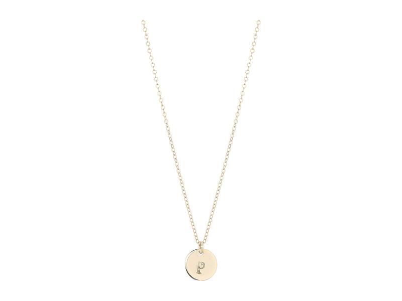 エイブル レディース ネックレス・チョーカー・ペンダントトップ アクセサリー Mini Tag P Necklace Gold