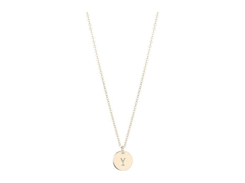 エイブル レディース ネックレス・チョーカー・ペンダントトップ アクセサリー Mini Tag Y Necklace Gold