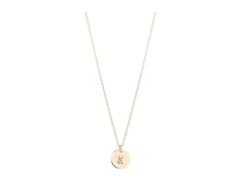 エイブル レディース ネックレス・チョーカー・ペンダントトップ アクセサリー Mini Tag K Necklace Gold
