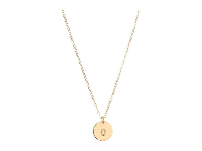 エイブル レディース ネックレス・チョーカー・ペンダントトップ アクセサリー Mini Tag Q Necklace Gold