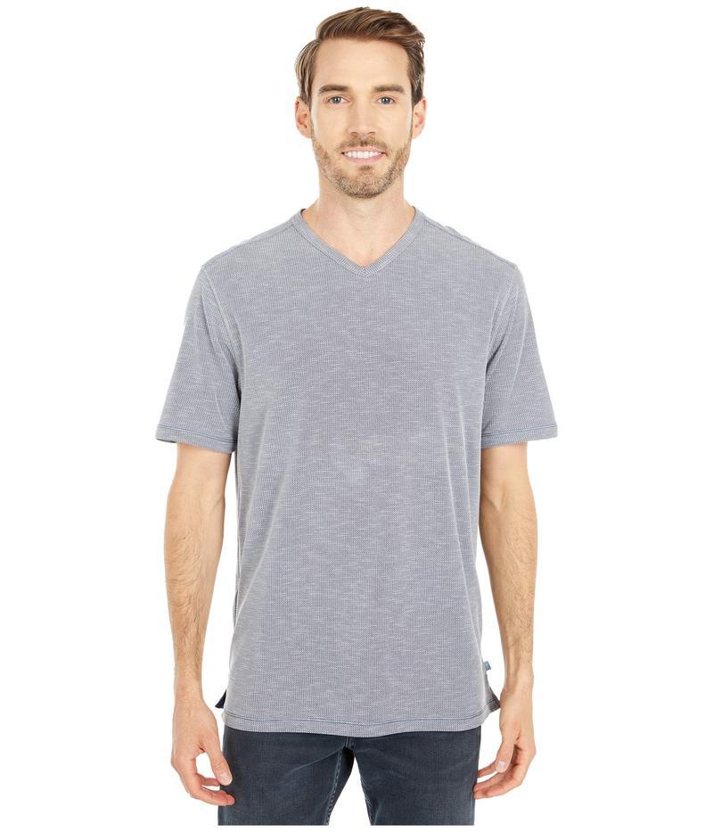 トッミーバハマ メンズ シャツ トップス Tropicool Paradise IslandZone V-Neck T-Shirt Ash Grey