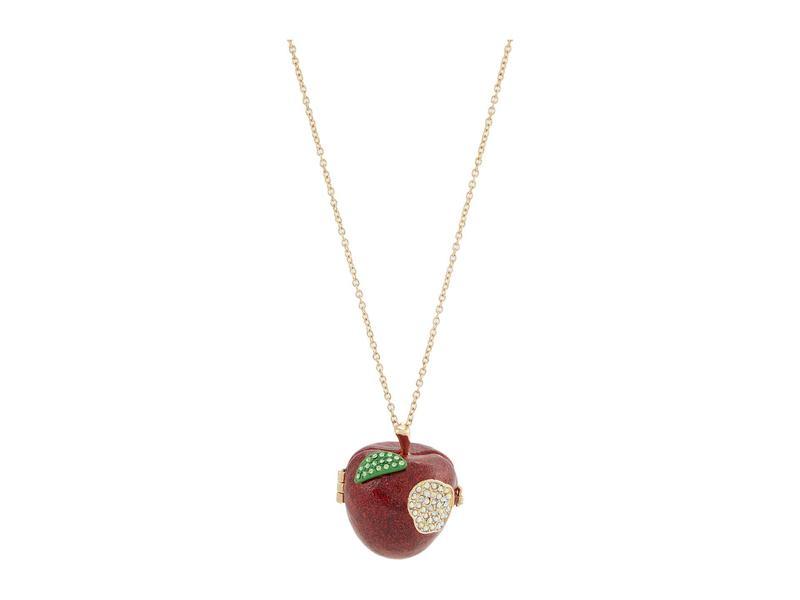 ベッツィジョンソン レディース ネックレス・チョーカー・ペンダントトップ アクセサリー Apple Long Pendant Necklace Red