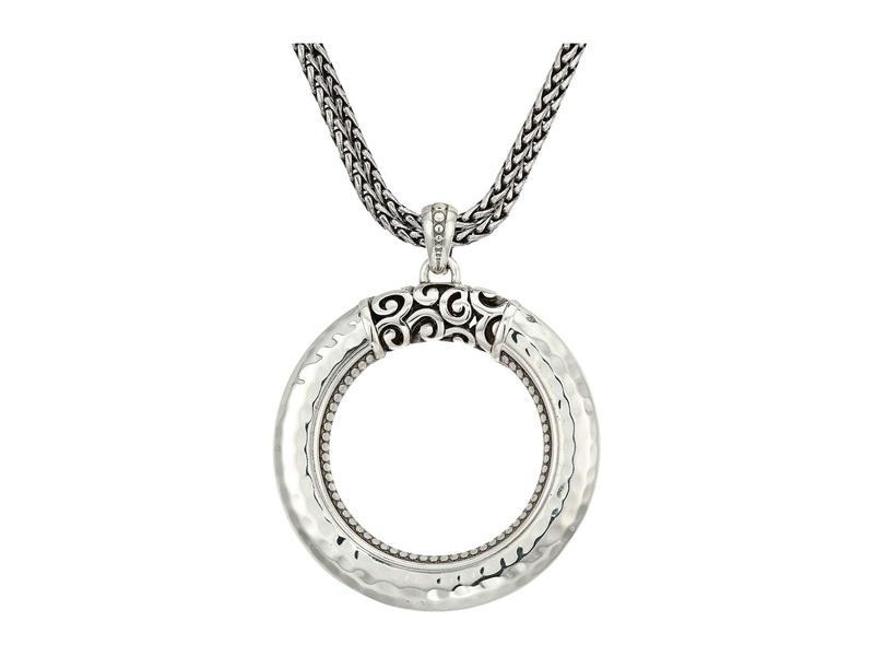 ブライトン レディース ネックレス・チョーカー・ペンダントトップ アクセサリー Mingle Ring Convertible Necklace Silver