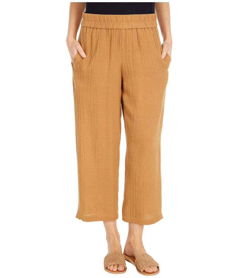 エイリーンフィッシャー レディース カジュアルパンツ ボトムス Petite Straight Leg Pants Chestnut