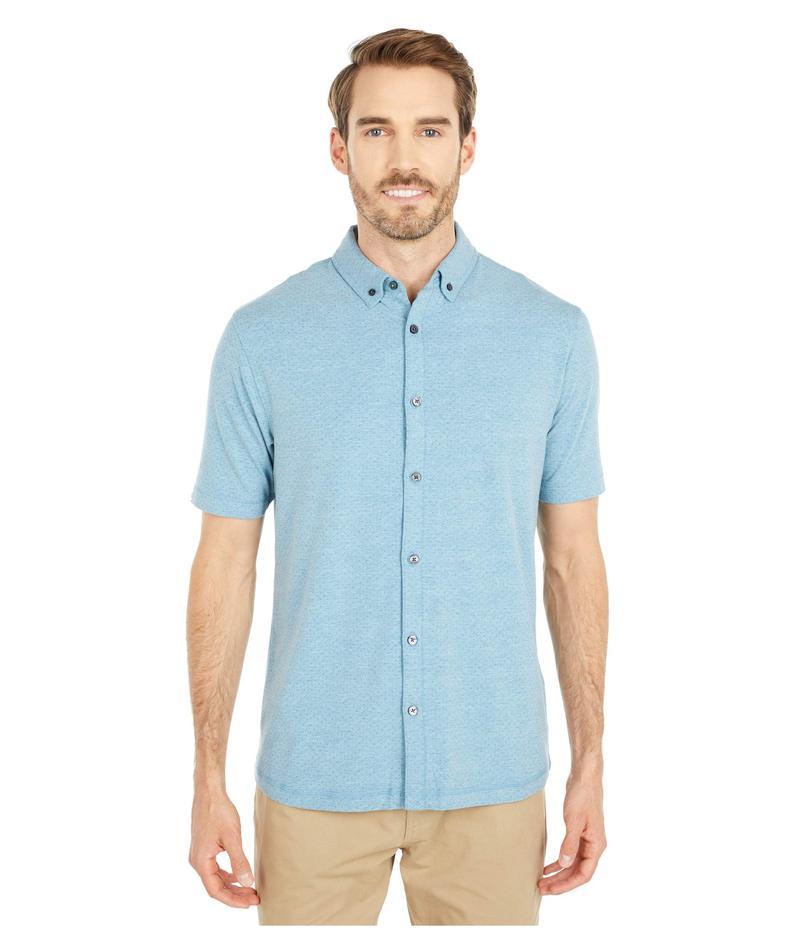 リンクソウル メンズ シャツ トップス LS1246 - Anza Desert Dot Short Sleeve Shirt Abalone Heather
