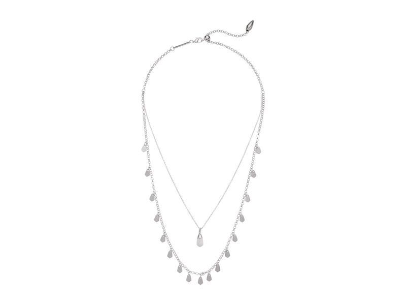ケンドラスコット レディース ネックレス・チョーカー・ペンダントトップ アクセサリー Freida Multi Strand Necklace Rhodium White H