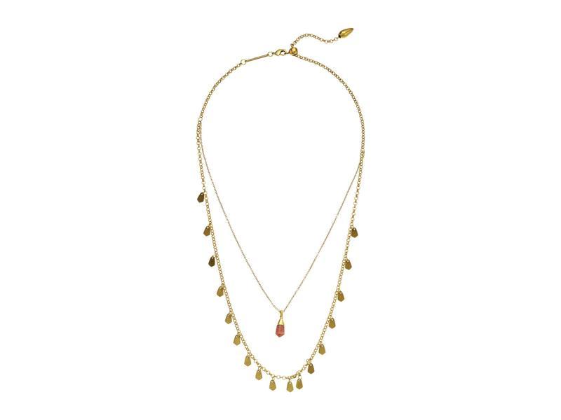 ケンドラスコット レディース ネックレス・チョーカー・ペンダントトップ アクセサリー Freida Multi Strand Necklace Vintage Gold Bu