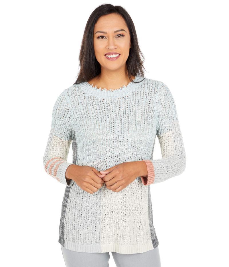 送料無料 サイズ交換無料 ニックプラスゾーイ レディース アウター ニット Modern Sweater Multi 大放出セール 品質保証 Love Blue セーター