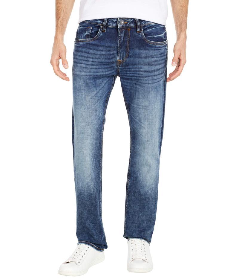 バッファロー・デイビッド・ビトン メンズ デニムパンツ ボトムス Ash Slim Jean in Indigo Vintage Contrasted Indigo Vintage