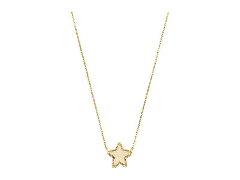 ケンドラスコット レディース ネックレス・チョーカー・ペンダントトップ アクセサリー Jae Star Pendant Necklace Gold/Iridescent