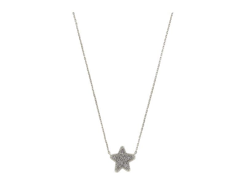 ケンドラスコット レディース ネックレス・チョーカー・ペンダントトップ アクセサリー Jae Star Pendant Necklace Rhodium/Platinu