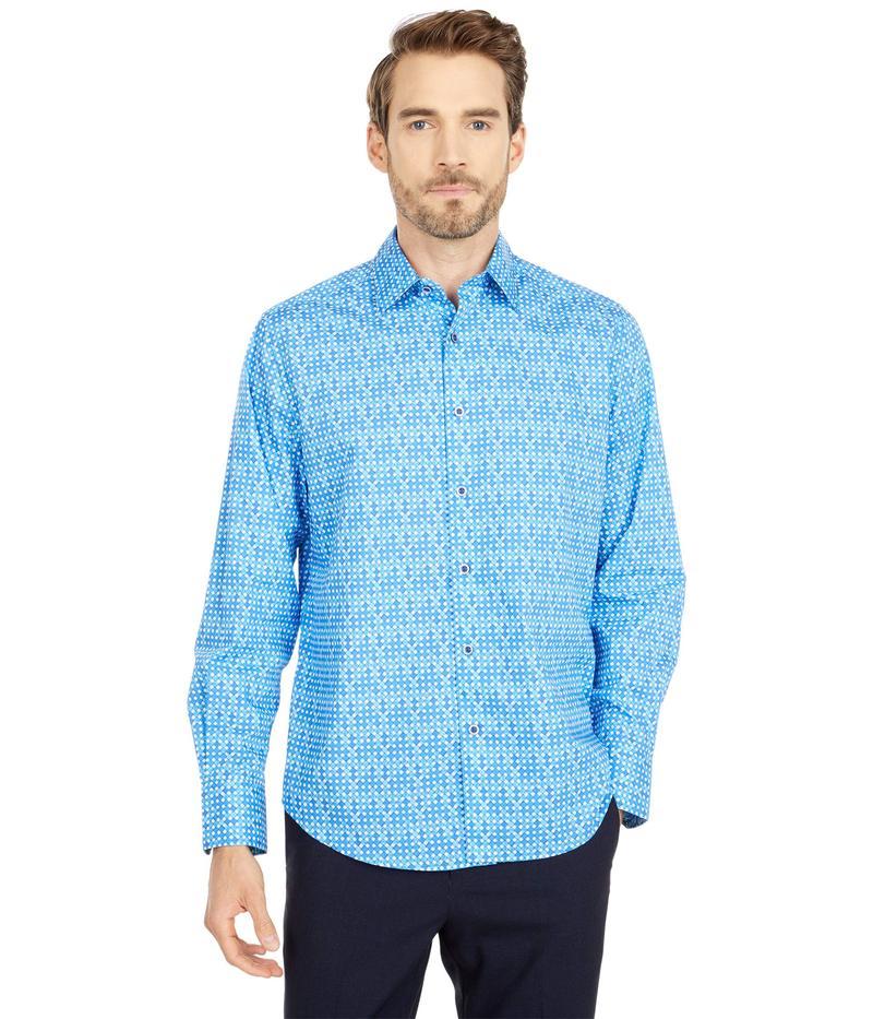 ロバートグラハム メンズ シャツ トップス Jungle Bird Button-Up Shirt Blue
