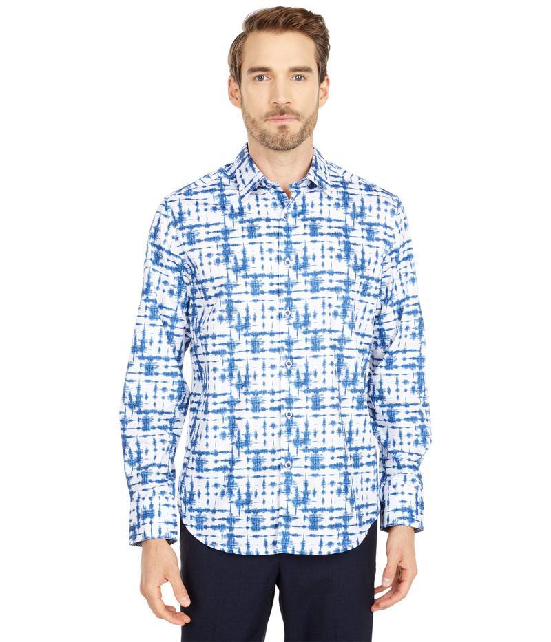 ロバートグラハム メンズ シャツ トップス De Rosa Button-Up Shirt Blue