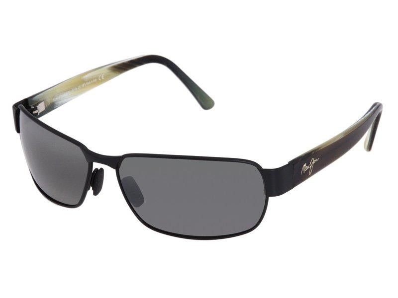 マウイジム メンズ サングラス・アイウェア アクセサリー Black Coral Matte Black/Neutral Grey