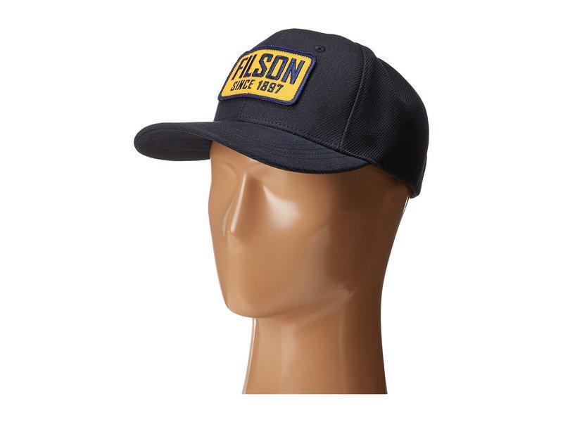 フィルソン メンズ 帽子 アクセサリー Logger Cap Navy